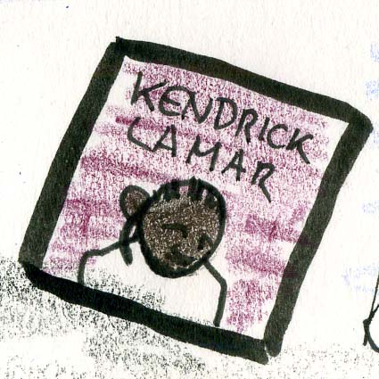 Kendrick Lamar Caricature