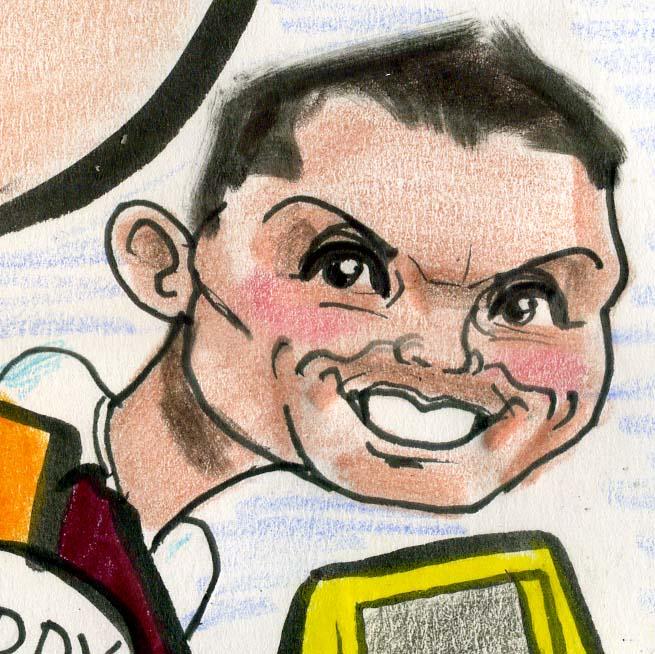 Ronaldo Caricature