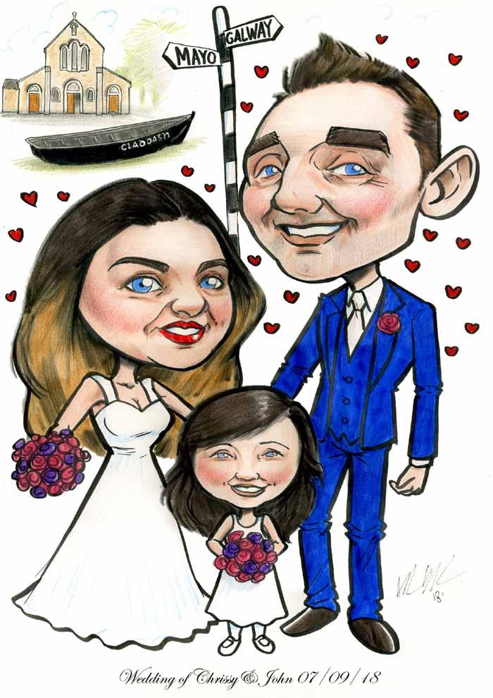 galway claddagh wedding