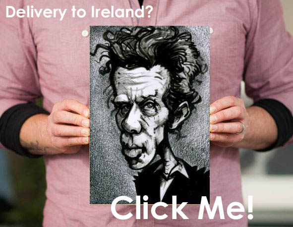 tom waits canvas print ireland