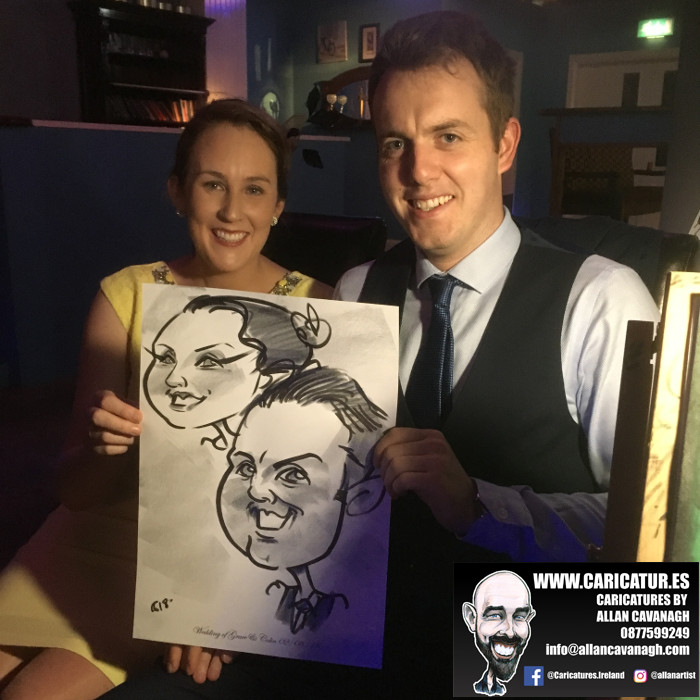 Belmullet Wedding Entertainment Caricature Artist 10