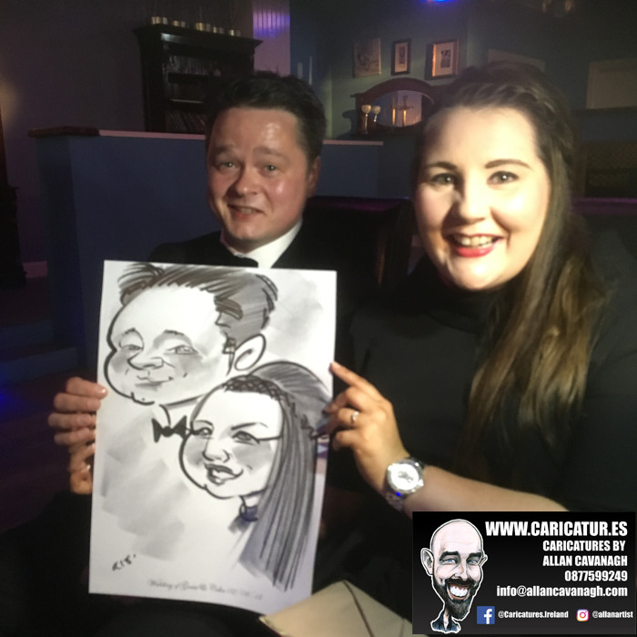 Belmullet Wedding Entertainment Caricature Artist 11