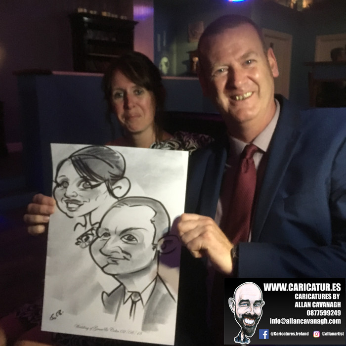 Belmullet Wedding Entertainment Caricature Artist 12