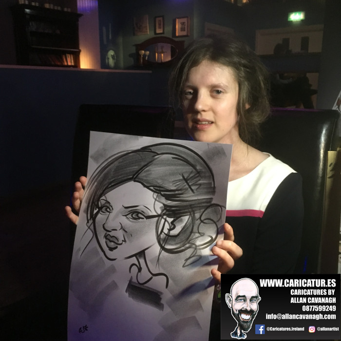 Belmullet Wedding Entertainment Caricature Artist 14