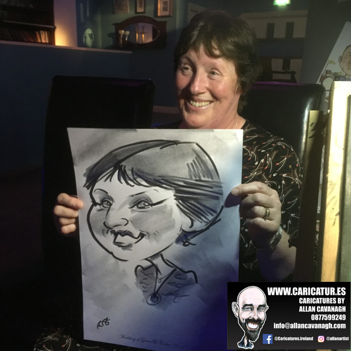 Belmullet Wedding Entertainment Caricature Artist 15
