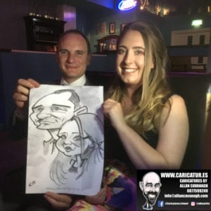 Belmullet Wedding Entertainment Caricature Artist 22
