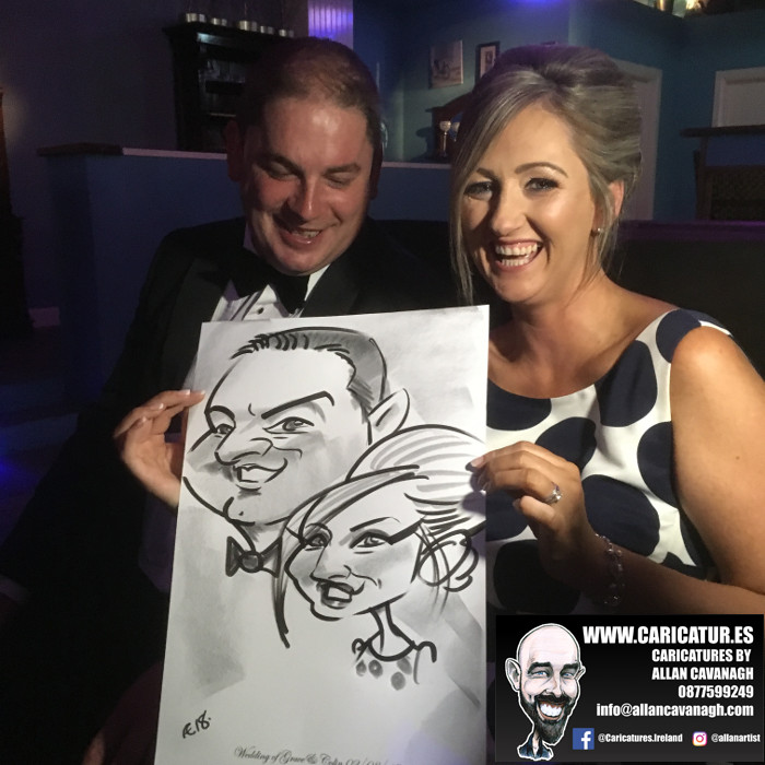 Belmullet Wedding Entertainment Caricature Artist 4