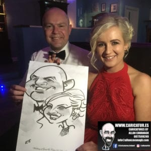Belmullet Wedding Entertainment Caricature Artist 6