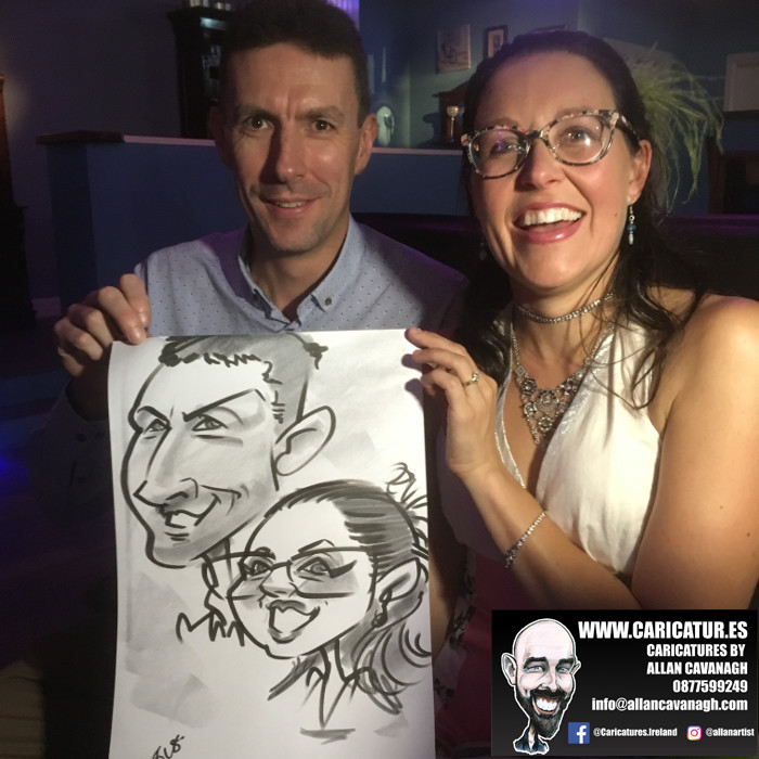 Belmullet Wedding Entertainment Caricature Artist 7
