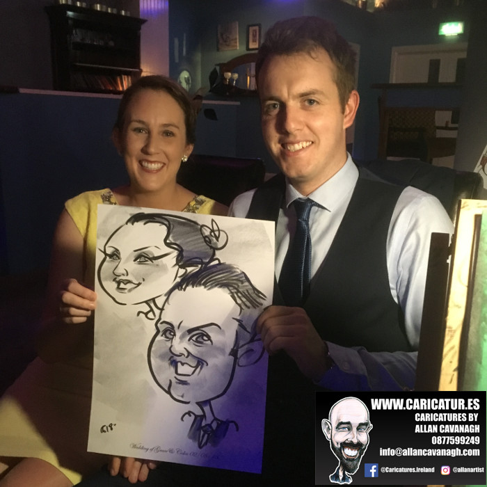 Belmullet Wedding Entertainment Caricature Artist 9
