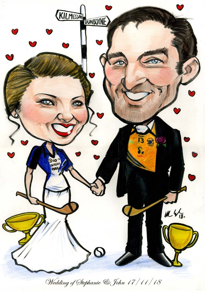 GAA THEME WEDDING GIFTS