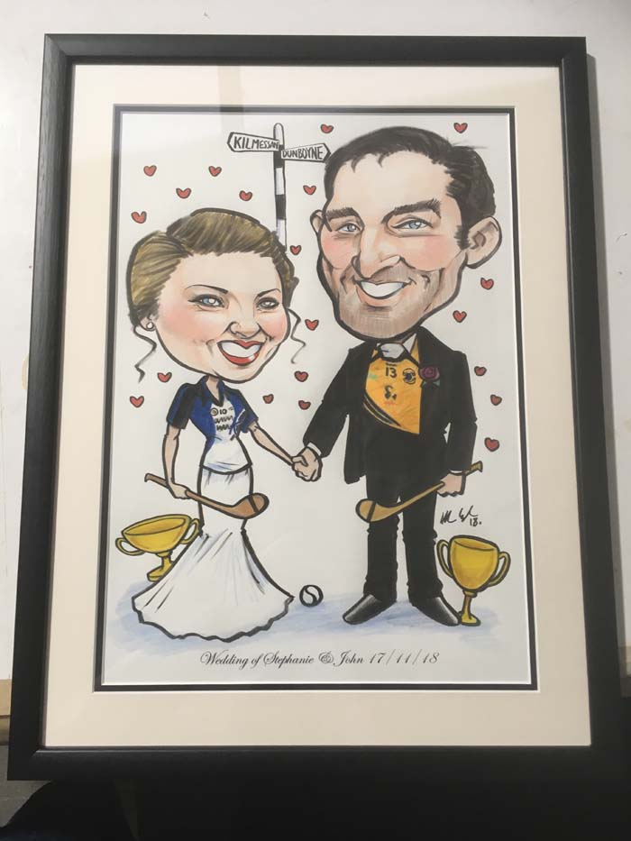 GAA THEMED WEDDING PRESENTS