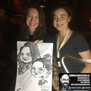 galway caricature artist liquor lounge dail bar 10