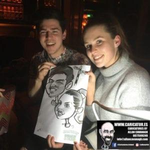 galway caricature artist liquor lounge dail bar 11