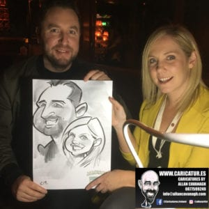galway caricature artist liquor lounge dail bar 13