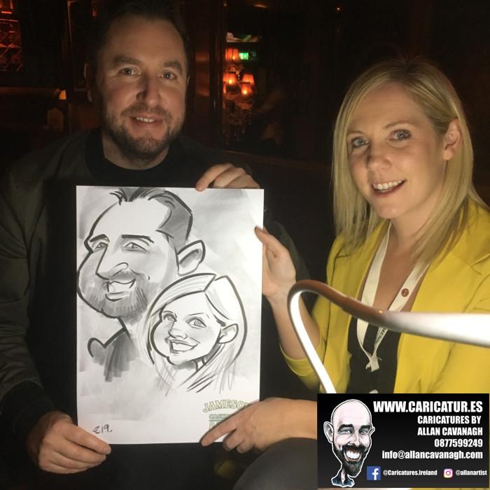 galway caricature artist liquor lounge dail bar 13