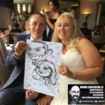 Shoreline Hotel Donabate Wedding Entertainment Caricature Artist 1