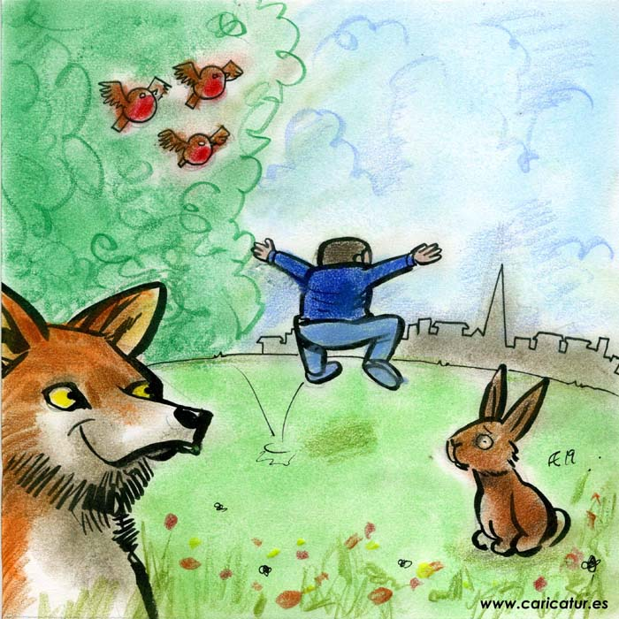 fox rabbit cartoon