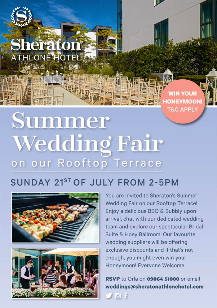 sheraton athlone summer wedding fair 2019 copy