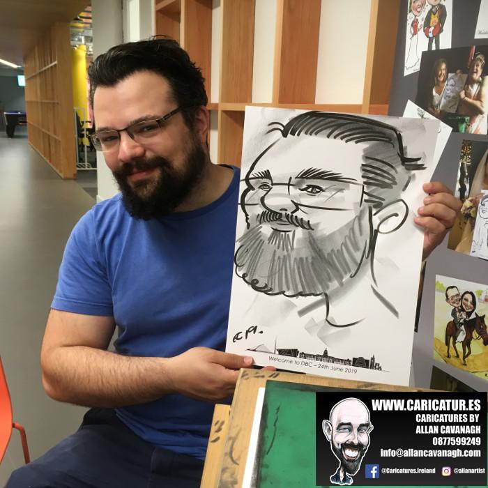 caricature artist facebook dublin 1