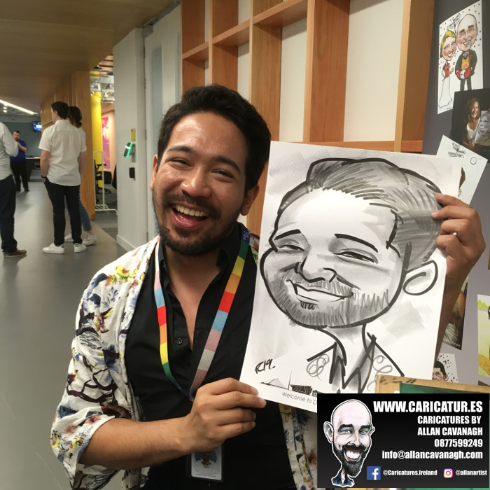 caricature artist facebook dublin 10