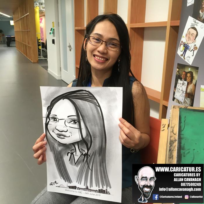 caricature artist facebook dublin 11