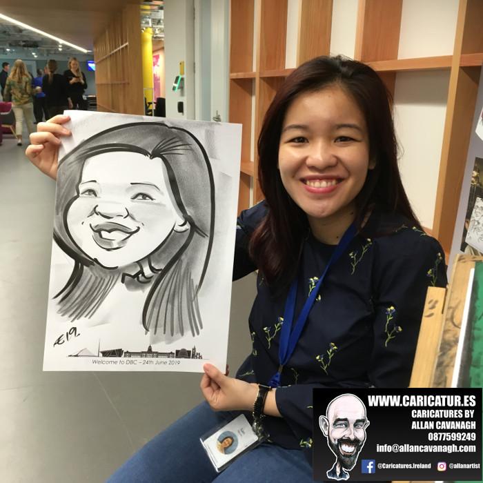 caricature artist facebook dublin 12