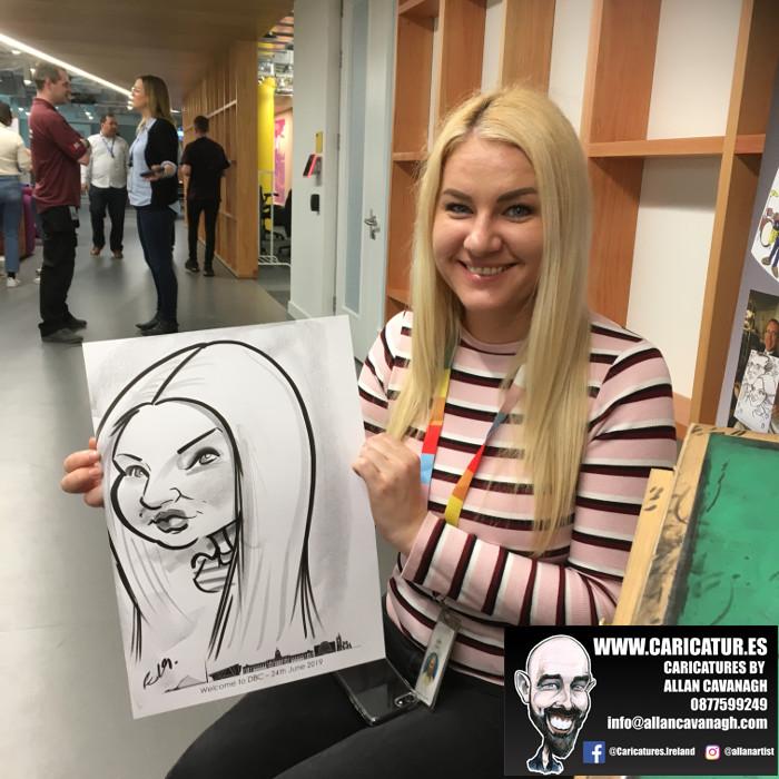 caricature artist facebook dublin 14