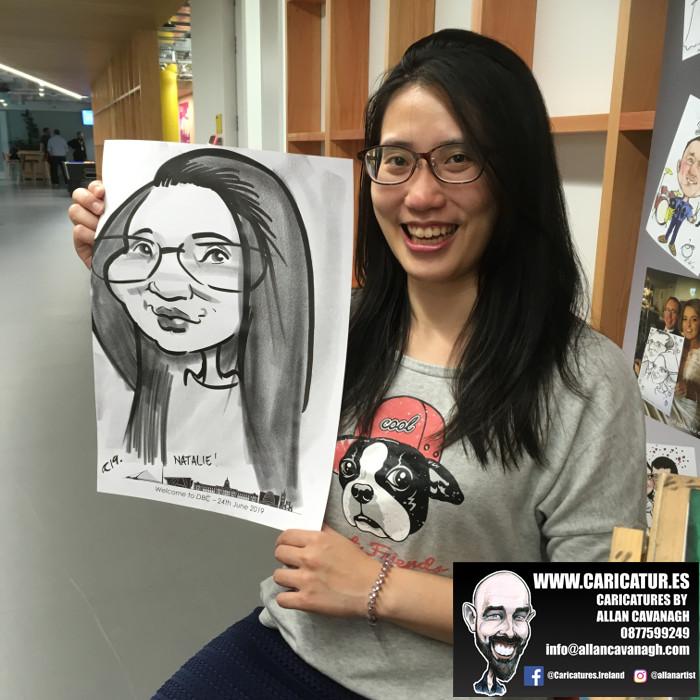 caricature artist facebook dublin 15
