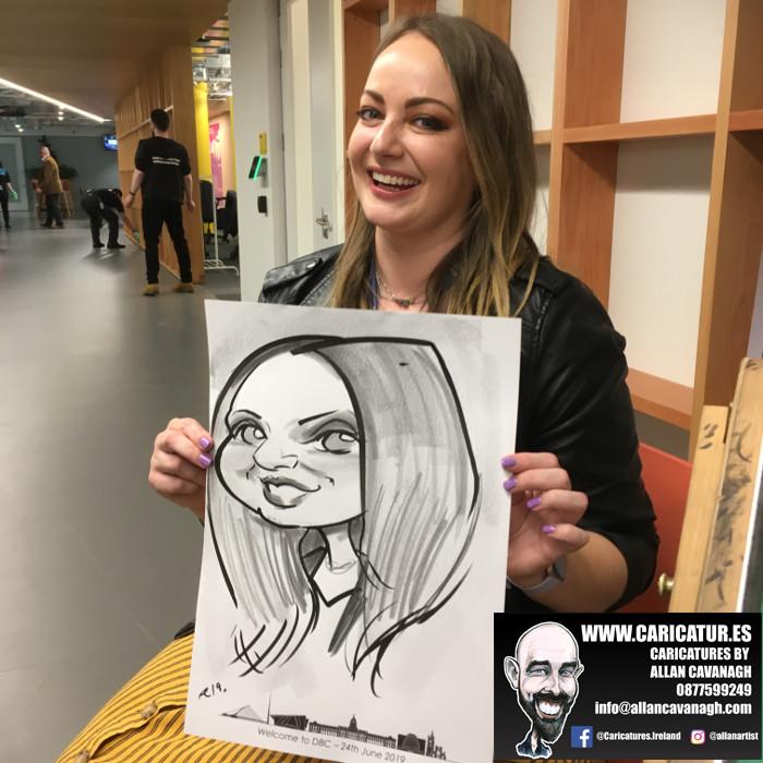 caricature artist facebook dublin 2
