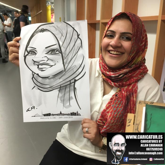 caricature artist facebook dublin 20