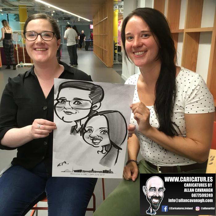 caricature artist facebook dublin 22