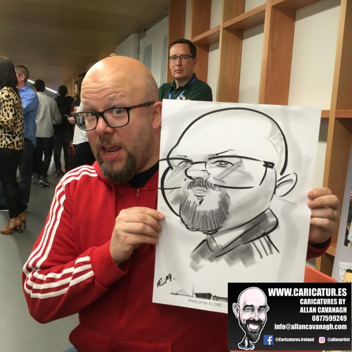 caricature artist facebook dublin 4