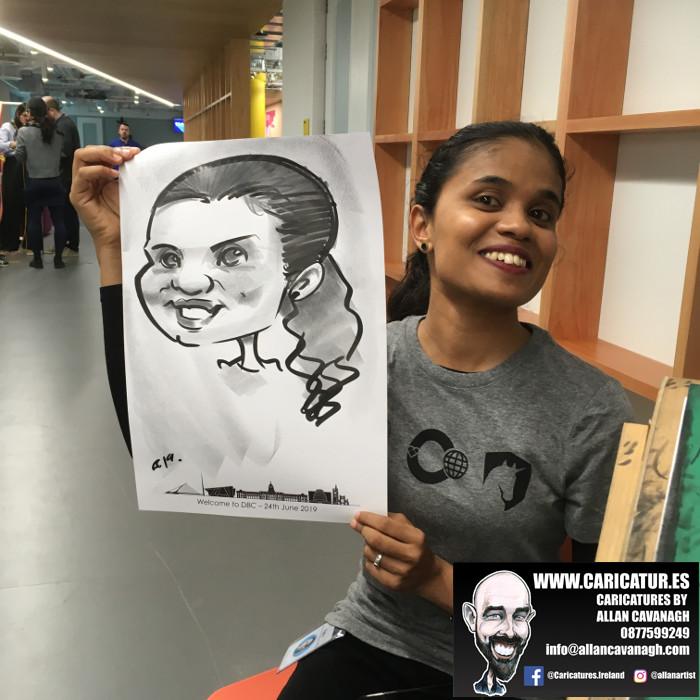 caricature artist facebook dublin 7