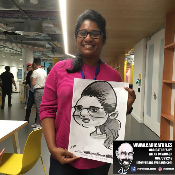 caricature artist facebook dublin 8