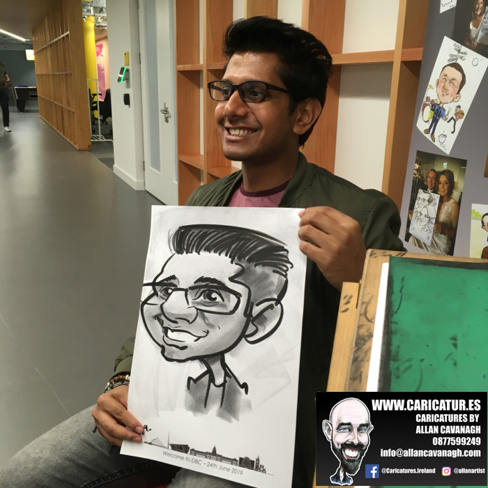 caricature artist facebook dublin 9