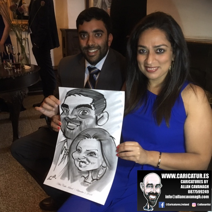 caricature artist for weddings