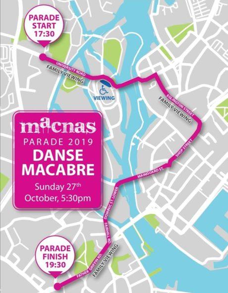 Macnas Parade Route 2019 460x591