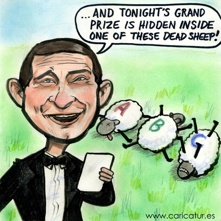 bear grylls cartoon caricature