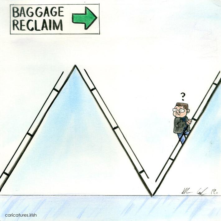 baggage reclaim cartoon