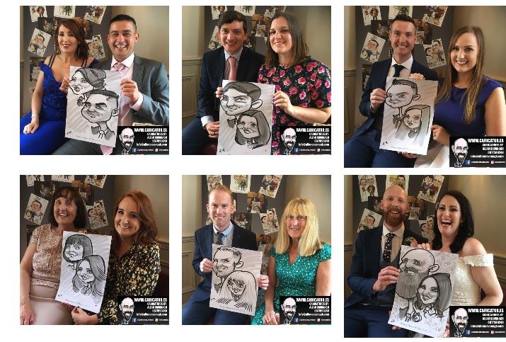 Wedding Entertainment Caricatures Ireland Allan Cavanagh