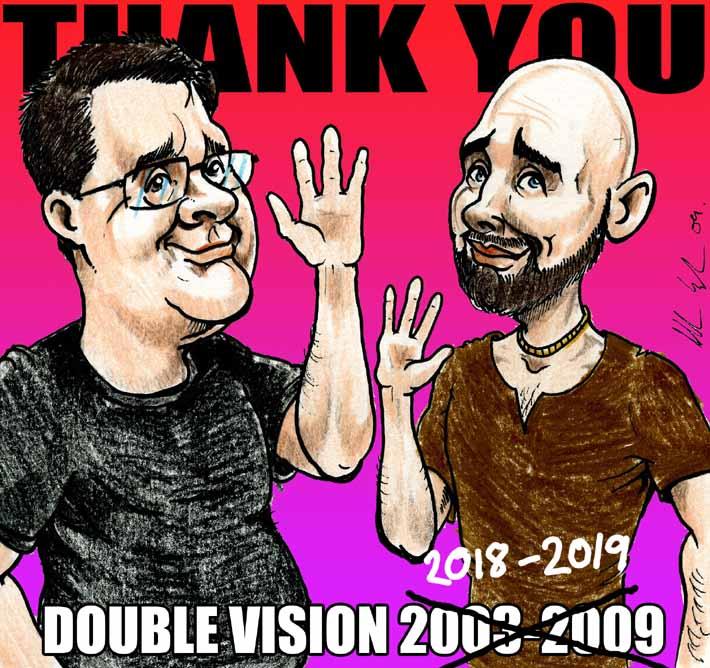 double vision the end charlie adley allan cavanagh