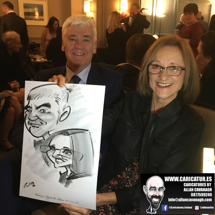 Haridman Hotel Wedding Entertainment Caricature Artist 1