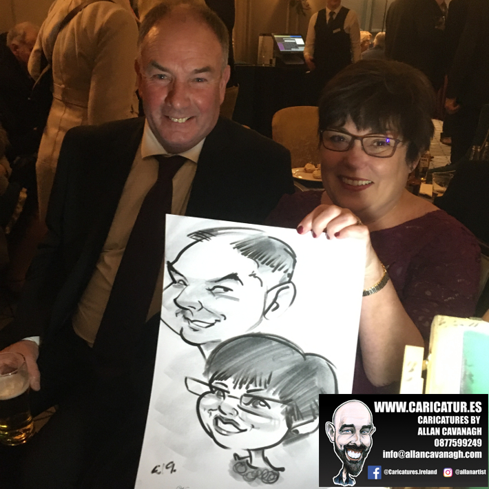 Haridman Hotel Wedding Entertainment Caricature Artist 3