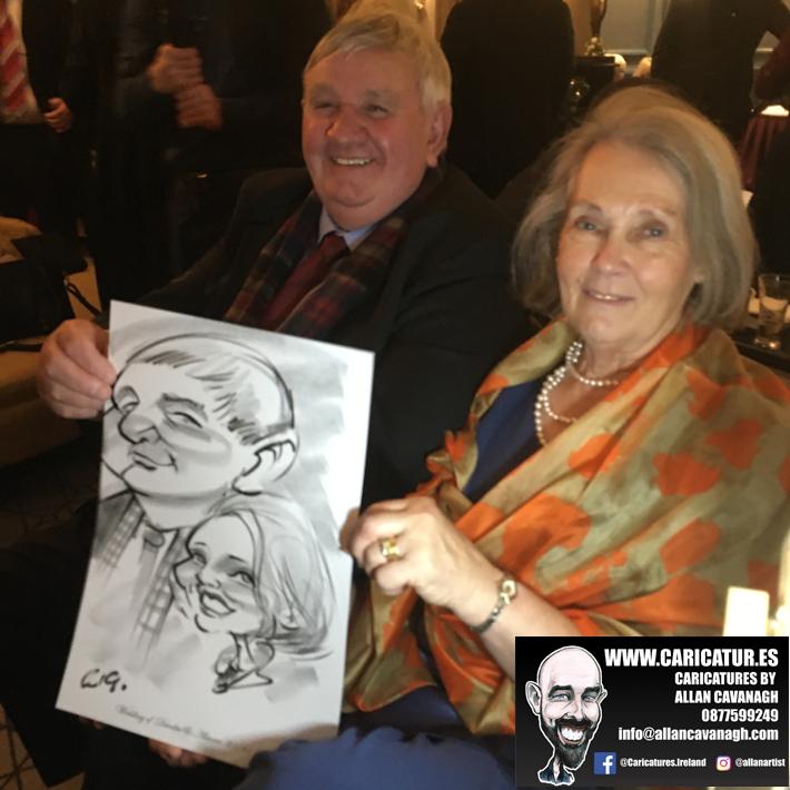 Haridman Hotel Wedding Entertainment Caricature Artist 4