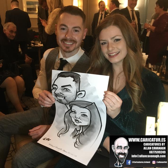 Haridman Hotel Wedding Entertainment Caricature Artist 5