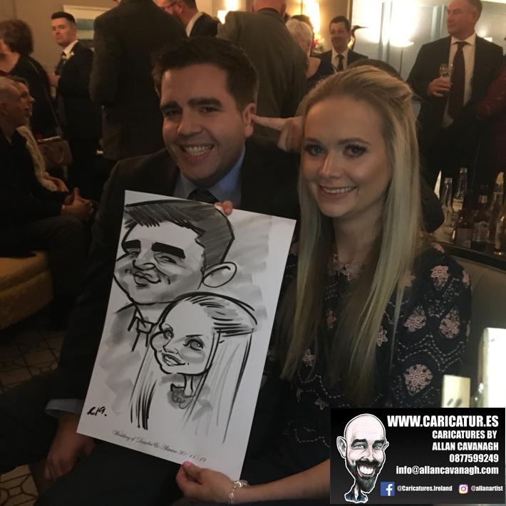 Haridman Hotel Wedding Entertainment Caricature Artist 7