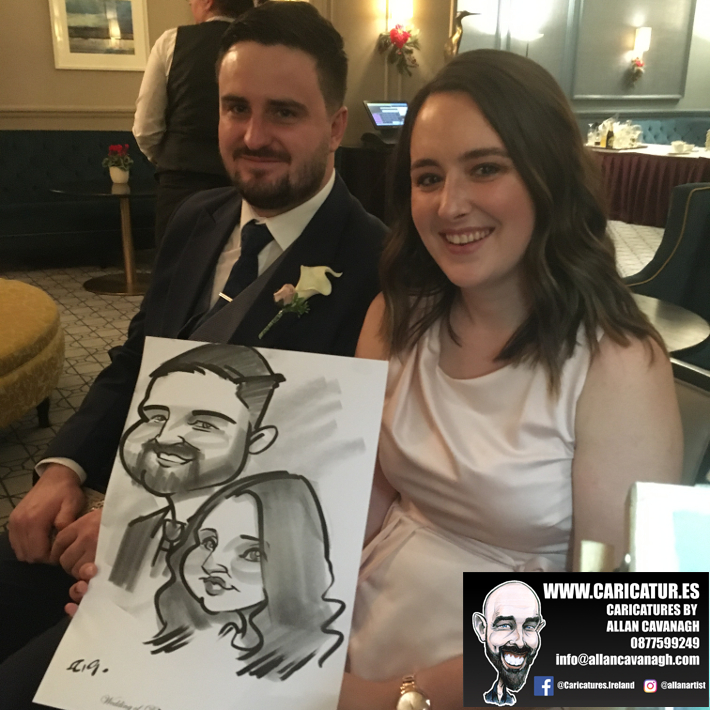 Haridman Hotel Wedding Entertainment Caricature Artist 8