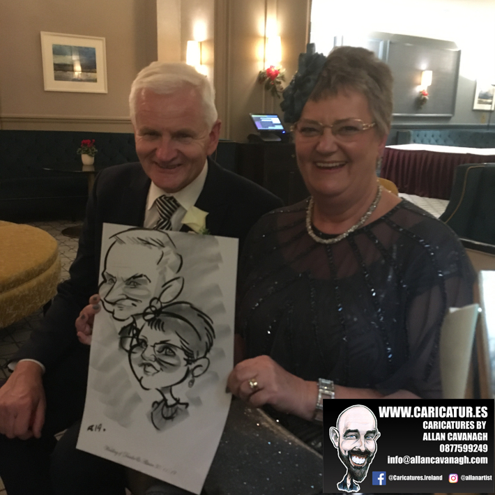 Haridman Hotel Wedding Entertainment Caricature Artist 9