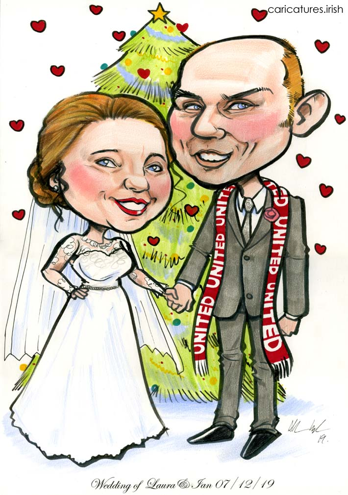 manchester united fan wedding